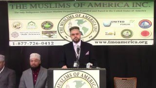 Binghamton (NY) United States  city photo : Part 1 - The Muslims of America Hold Press Conference in Binghamton, NY - April 7, 2016
