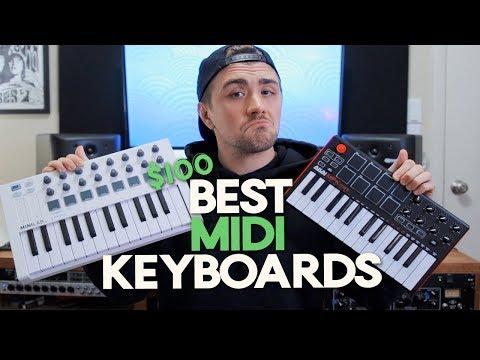 Best $100 Midi Keyboards - Best Midi Controllers 2.0