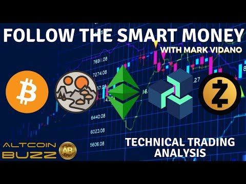 Follow The SMART MONEY! BITCOIN, ZCASH, MANA, ETH CLASSIC Technical Trading Analysis