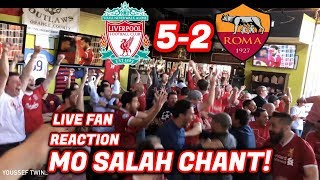 Video American Fans Love Mo Salah - LIVE Reaction Liverpool 5-2 Roma MP3, 3GP, MP4, WEBM, AVI, FLV Maret 2019