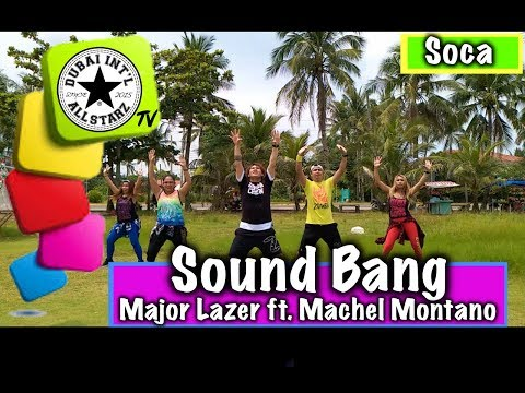 Sound Bang | Major Lazer ft MAchel montano | Zumba® |James Rodriguez | Choreography | Dance