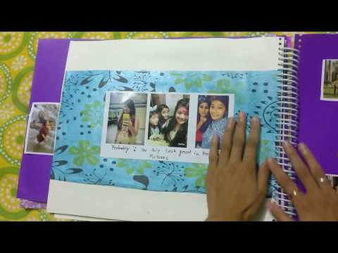 Birthday Scrapbook Ideas by A gift to remember