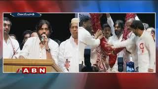 YCP and Congress leaders joins Janasena in Pawan Kalyan's presence