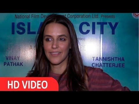 | Neha Dhupia | talk on Special Screening Of | Island City |