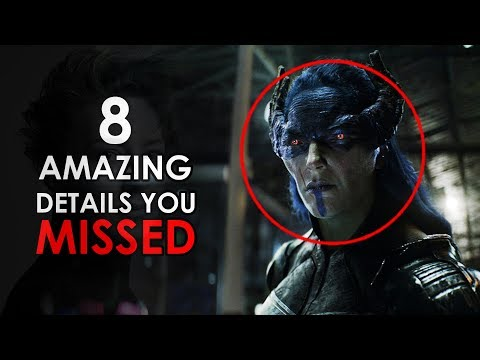 Top 8 Amazing Details That You Missed From Infinity War