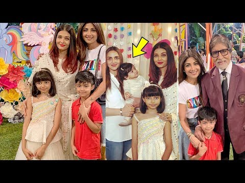 Video Aaradhya Bachchan's grand birthday party 2018 |Aishwarya Rai Bachchan download in MP3, 3GP, MP4, WEBM, AVI, FLV January 2017
