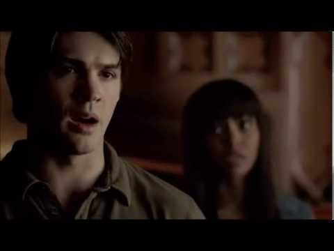 The Vampire Diaries 5x04. Jeremy tells Damon that Bonnie is dead.