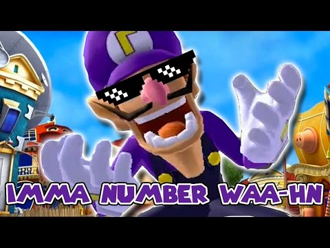 We are number one but it's a Waluigi parody (видео)
