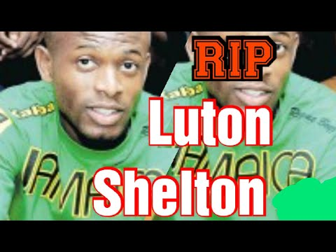 Jamaican Footballer Luton Shelton Is Dead form ALS Disease ( let us pray for his family