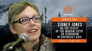 Rappler talks to Sidney Jones, head of think tank group Institute for Policy Analysis Of Conflict (IPAC) about the effect of the Marawi siege on terrorism in Southeast Asia http://rplr.co/2v2zwWtFollow Rappler on Social Media:Facebook - https://www.facebook.com/rapplerdotcomTwitter - https://twitter.com/rapplerdotcomInstagram - http://instagram.com/rapplerYouTube - https://www.youtube.com/rappler/?sub_confirmation=1SoundCloud - https://soundcloud.com/rapplerGoogle+ - https://plus.google.com/+Rappler/Tumblr - http://rappler.tumblr.com/http://www.rappler.com/