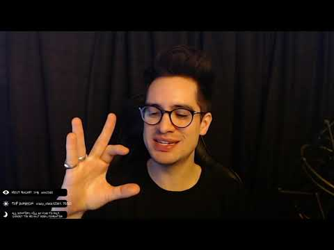 Brendon Urie on Twitch - Feb. 9, 2019