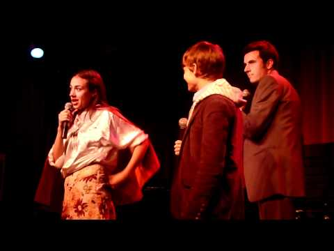 Andrew Keenan Bolger - Miranda Sings shows off another magic trick alongside Christopher Ballinger and then performs