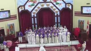 Hosanna Palm Sunday - Toronto Ethiopian Orthodox Tewahedo St. Mary Cathedral Choirs (April 28, 2013)