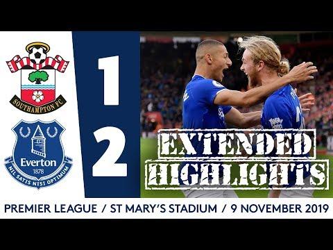 FC Southampton 1-2 FC Everton Liverpool
