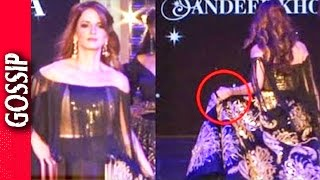 image of Sussane Khan Almost Falls On Ramp - Bollywood Gossip 2017