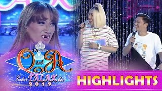 Video It's Showtime Miss Q and A: Vice and Jhong are fond of Miss Q & A candidate's teeth MP3, 3GP, MP4, WEBM, AVI, FLV Januari 2019