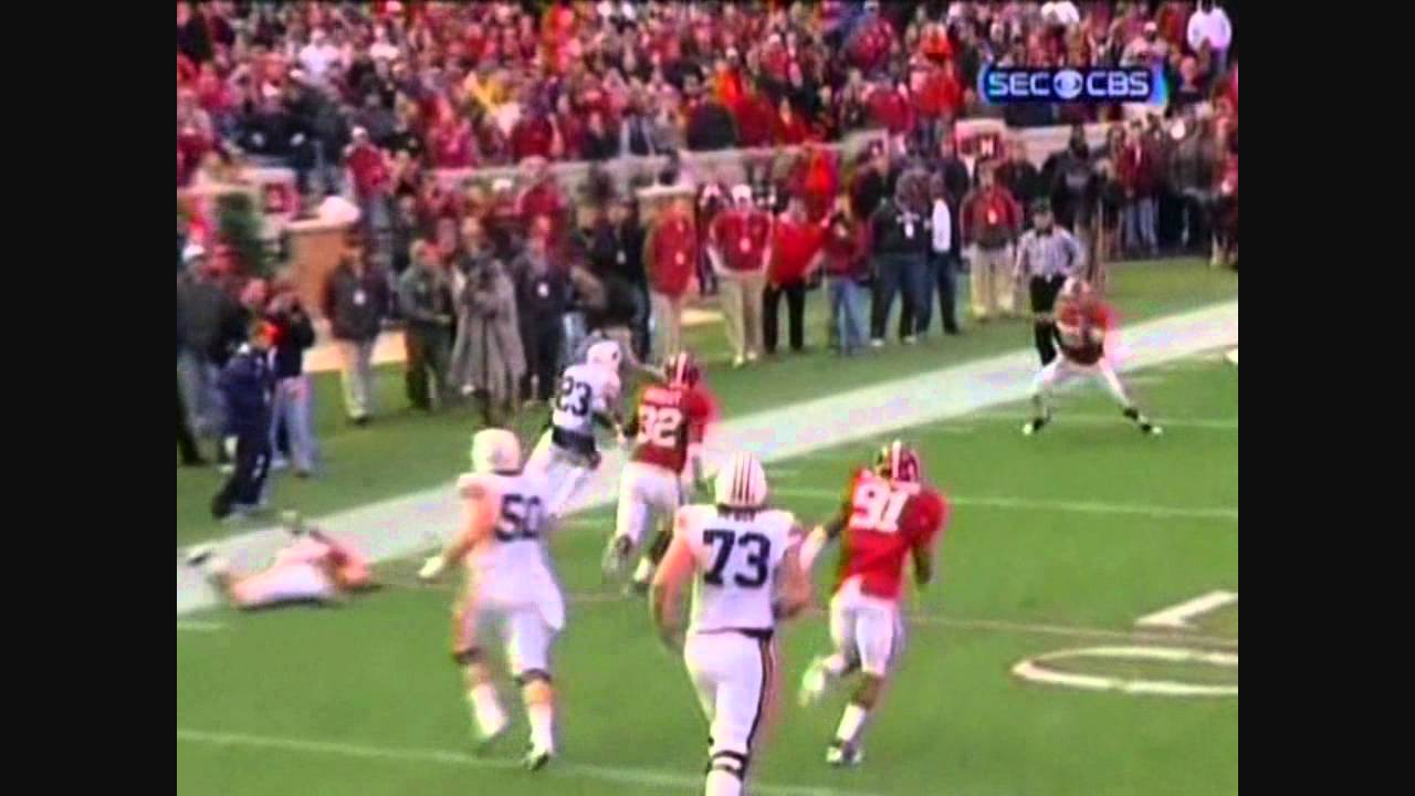 Onterio McCalebb vs Arkansas,Alabama,LSU,Georgia 2010 vs  ()