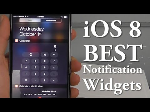 center - Learn about the Best Notification Center Widgets for your iPhone or iPad running iOS 8! We show you the top 10 applications that allow for the new widget functionality! iOS 8 Hidden Features:...