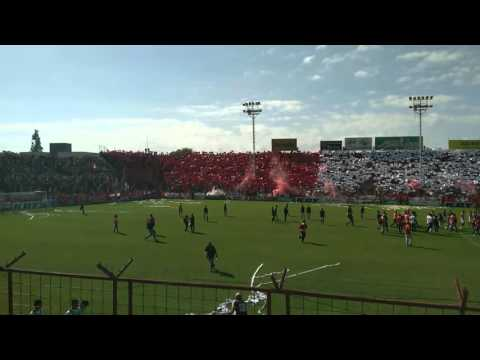 San Martin(Tuc) VS Concepción F.C(Tuc)- RECIBIMIENTO + CARTULINAZO - La Banda del Camion - San Martín de Tucumán