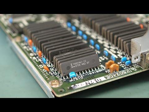 EEVblog #746 - Sharp X68000 Retro Computer Teardown