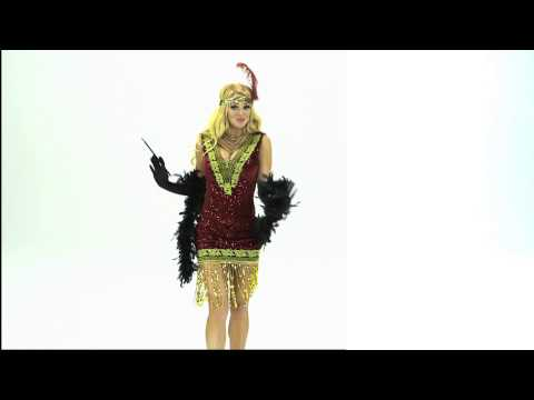 Sophisticated Lady Flapper Womens Costume