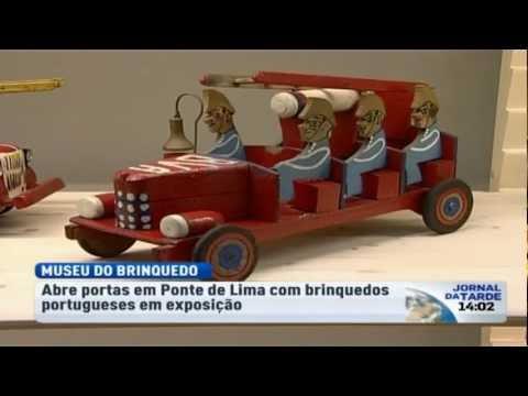 Primeiro Museu do Brinquedo Português abre portas em Ponte de Lima