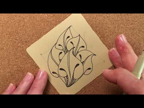 Zentangle® Project Pack #02 - Day Six