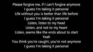Olly Murs - Personal (Lyrics)