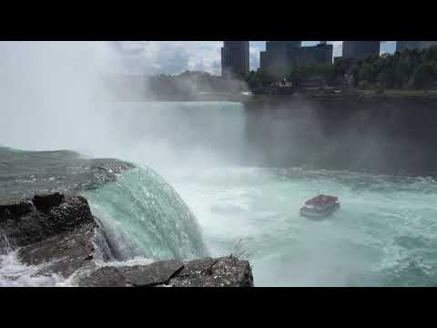 A walk around the American side of Niagara Falls, New York