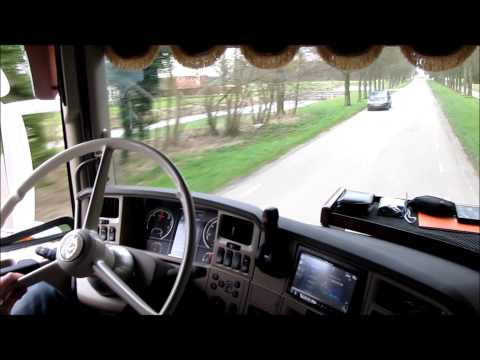 Scania r500 V8 Sound