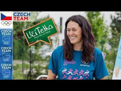 UčíTelka: Olympijský tělák se Šárkou Kašpárkovou