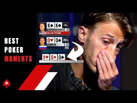 FLOPPING QUADS (The best feeling in Poker) ♠️ Best Poker Moments ♠️ PokerStars