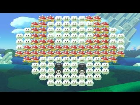 MARIO PARTY - Mushroom Road - by HP-RIDER 一SUPER MARIO MAKER一 No Commentary