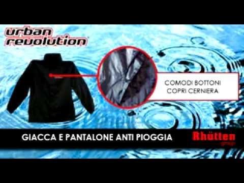 Giacca e pantalone antipioggia - Completo impermeabile per contrastare la pioggia in moto
