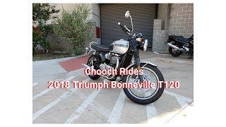 1. Chooch Rides - 2018 Triumph Bonneville T120