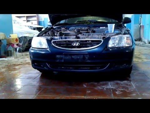 Hyundai accent 3 фара фотка
