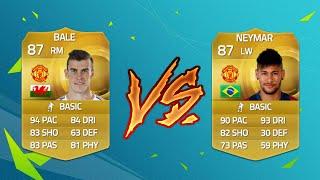 MAN UTD NEYMAR VS MAN UTD BALE... Fifa 15 Suicide Squads vs REEV?, neymar, neymar Barcelona,  Barcelona, chung ket cup c1, Barcelona juventus