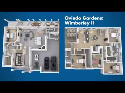The Wimberley II Floor Plan | Oviedo Gardens in Oviedo, FL | Meritage Homes