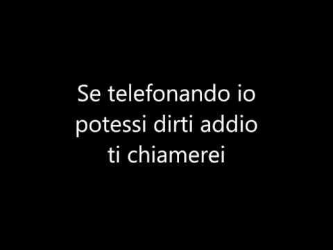 , title : 'Nek-  Se telefonando + testo'
