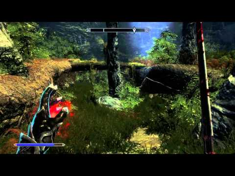 Skyrim Vampire Gameplay – Dawnguard Quests – Unseen Visions