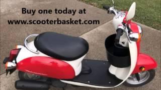 8. Honda Metropolitan Scooter Basket CHF50