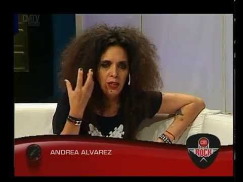 Andrea Alvarez video Entrevista CM Rock - Noviembre 2015
