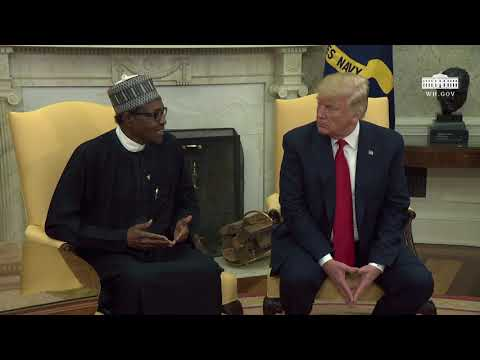 President Trump Meets with President Buhari of the Federal Republic of Nigeria