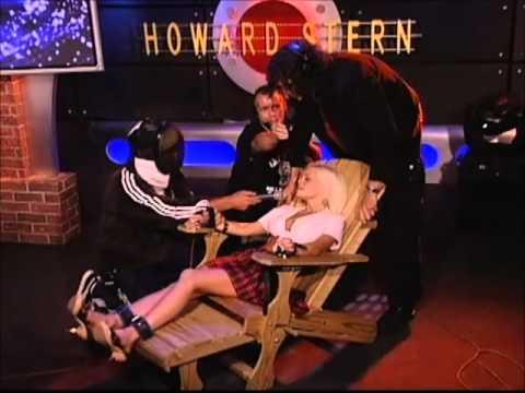 Jesse Jane ( Porno Star ) In Howard Stern's Tickle Chair