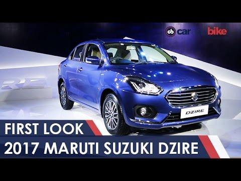 Video 2017 Maruti Suzuki Dzire First Look - NDTV CarAndBike download in MP3, 3GP, MP4, WEBM, AVI, FLV January 2017