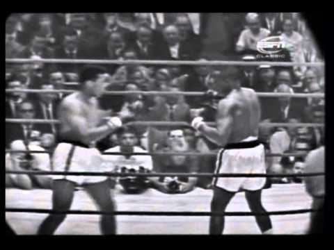 Cassius Clay vs. Sonny Liston - 1964 Boxen