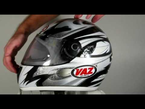 VAZ Helmets Pinlock visor demonstration