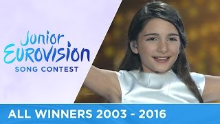 Video All winners of the Junior Eurovision Song Contest (2003-2016) MP3, 3GP, MP4, WEBM, AVI, FLV Juli 2018