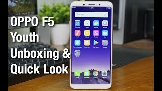 Video OPPO F5 Youth Unboxing & Quick Look MP3, 3GP, MP4, WEBM, AVI, FLV Februari 2018