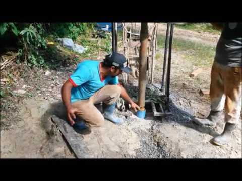 Perfuração de Poço Artesiano em Cachoeira do Campo próximo a Ouro Preto MG